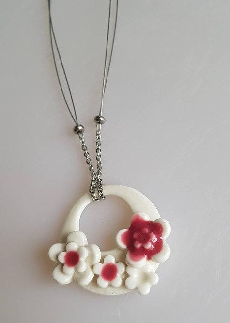 FLEUR Chain & Wire Necklace