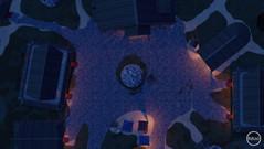 Nordic Village Square - Night Map