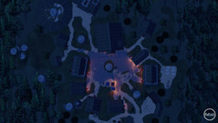 Nordic Village Overall - Night Map