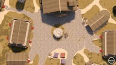 Nordic Village Square - Day Map