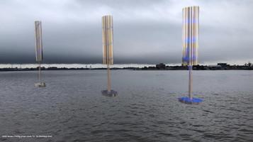 Michel Varisco, Turning, prayer wheels for the Mississippi River