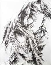 "Virgil No. 20, 2015, Graphite on paper, 72"" x 55"""