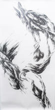 "Virgil No. 41, 2015, Graphite on paper, 108"" x 55"""