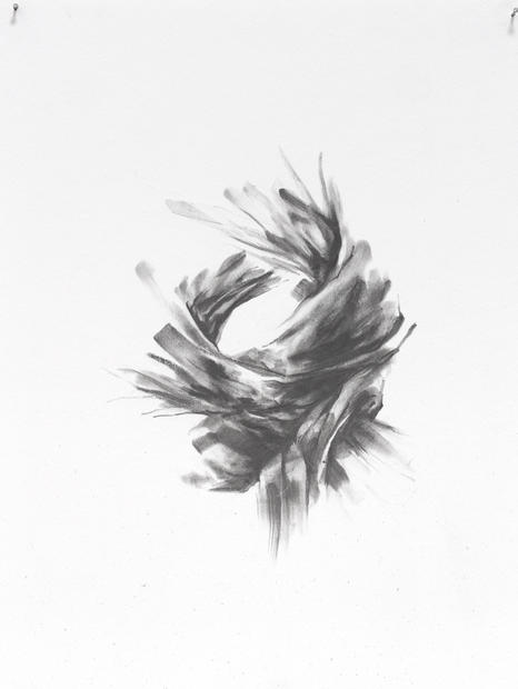 "Manifesto No. 2, 2016, Graphite on paper, 12"" x 9"""