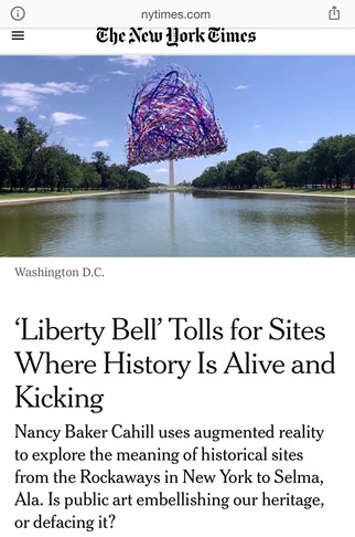 'Liberty Bell' in the New York Times