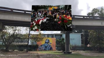 Keith Calhoun, Travis Trumpet Black Hill Funeral, 2015