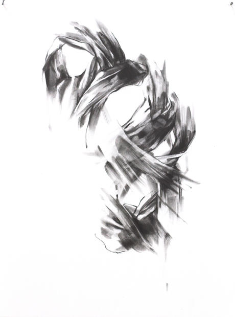 "Manifesto No. 5, 2016, Graphite on paper, 12"" x 9"""