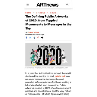 The Defining Public Artworks of 2020