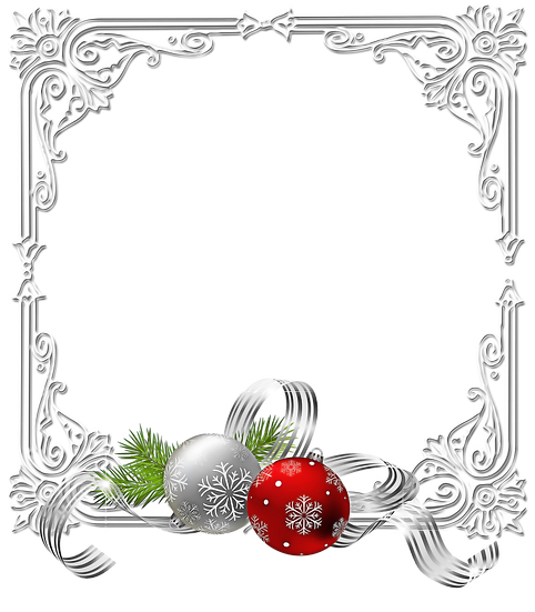 Amazing Christmas Frame - Transparent Background, Christmas Frame PNG