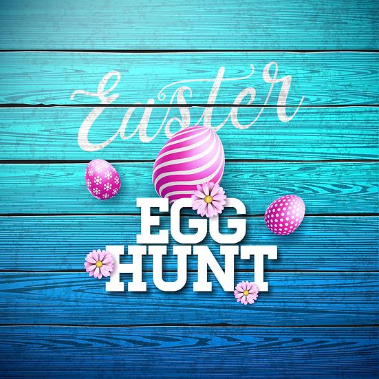 Easter Egg Hunt - Easter PNG Transparent Image - Instant Download