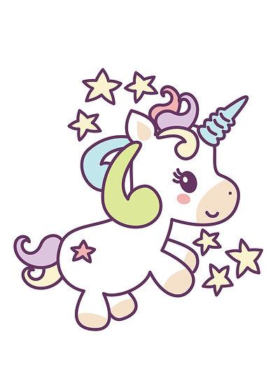 Unicorn Among The Stars Printable Digital Files: SVG, PNG, DXF, AI, EPS, JPEG