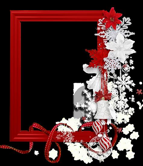 Magnificent Christmas Frame - Transparent Background, Cheap Digital Download