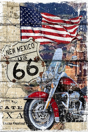 Route 66 New Mexico Print, Route 66 Poster Digital Download