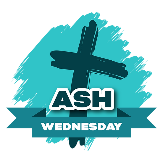 Ash Wednesday Beautiful Clipart - Easter Transparent Image - Instant Download