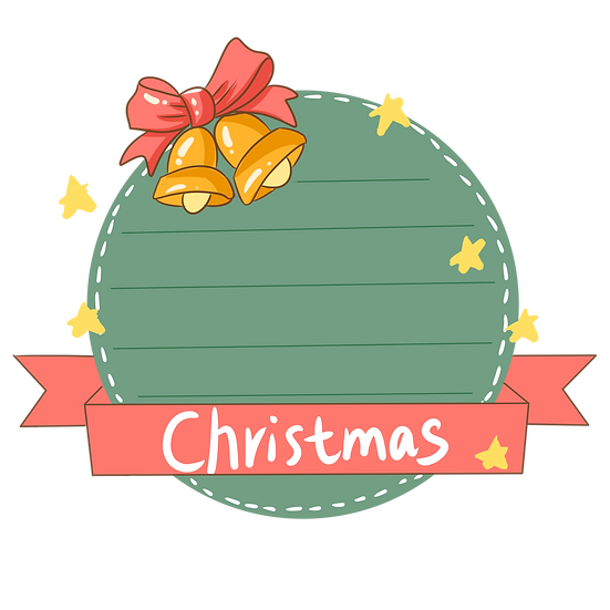 Secret Santa Wish List - Christmas Frame PNG, Cheap Digital Download