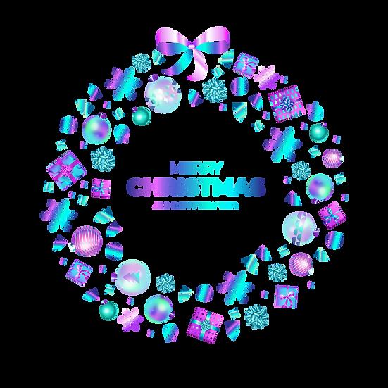 Fabulous Christmas Frame – Cheap Digital Download, Transparent Background