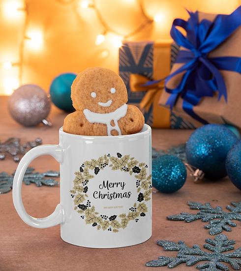 Christmas Magic Time Mug for Coffee / Tea, White Ceramic 7