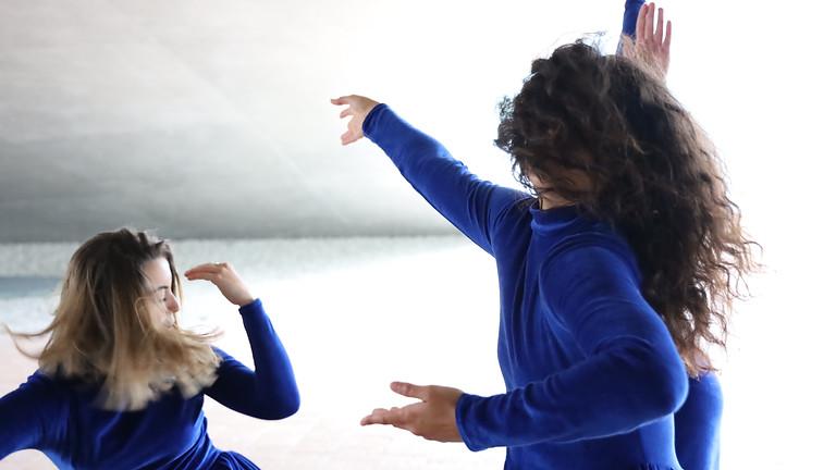 BLUE MIND - Déambulation dansée dans le Rolex Learning Center