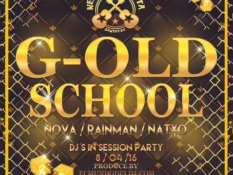 CD de REGALO FIESTA G-OLD SCHOOL PARTY REMEMBER 2016
