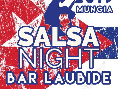 SALSA NIGHT PARTY - BAR LAUBIDE          MUNGIA