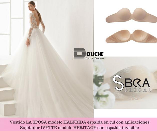 Cómo elegir la lenceria de novia en función de tu vestido ...