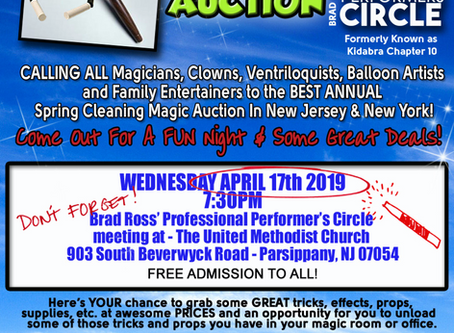 MAGIC AUCTION - APRIL 17TH