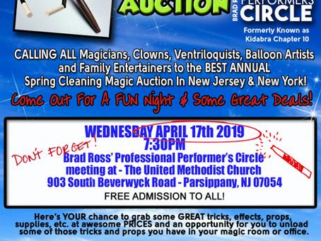 MAGIC AUCTION - APRIL 17TH