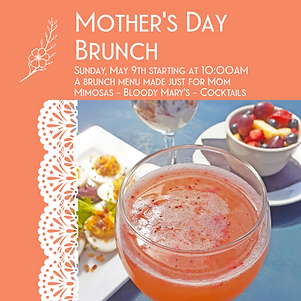 Mothers Day Brunch Flyer 2 Square_bleed.