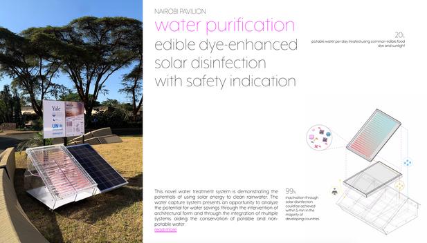 Solar Desinfection Water Window