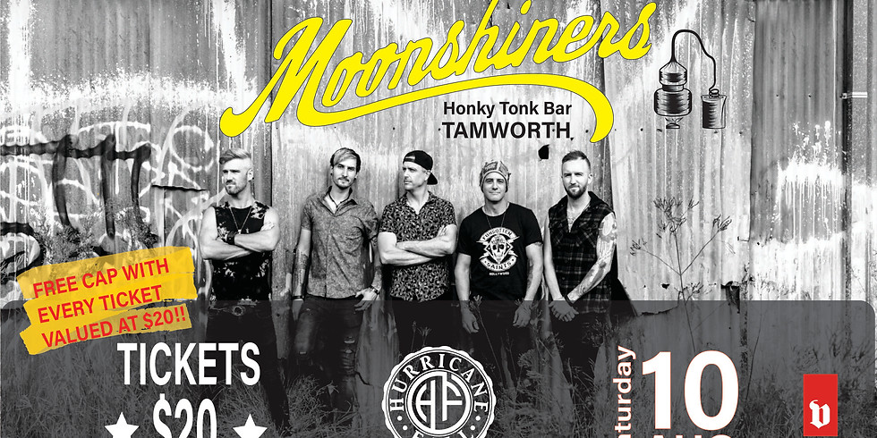 Hurricane Fall - Live At Moonshiners!