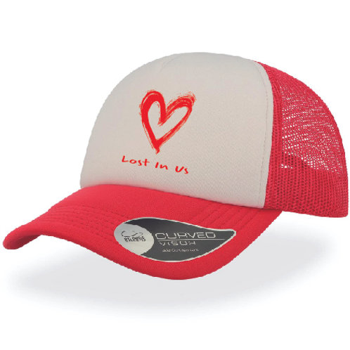 Lost In Us Cap - Red