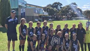 Grand Final win for under 12 girls