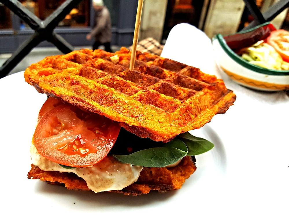 Gaufre sandwich