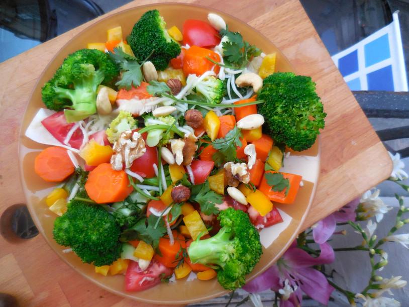 La Salade est dans le pré
