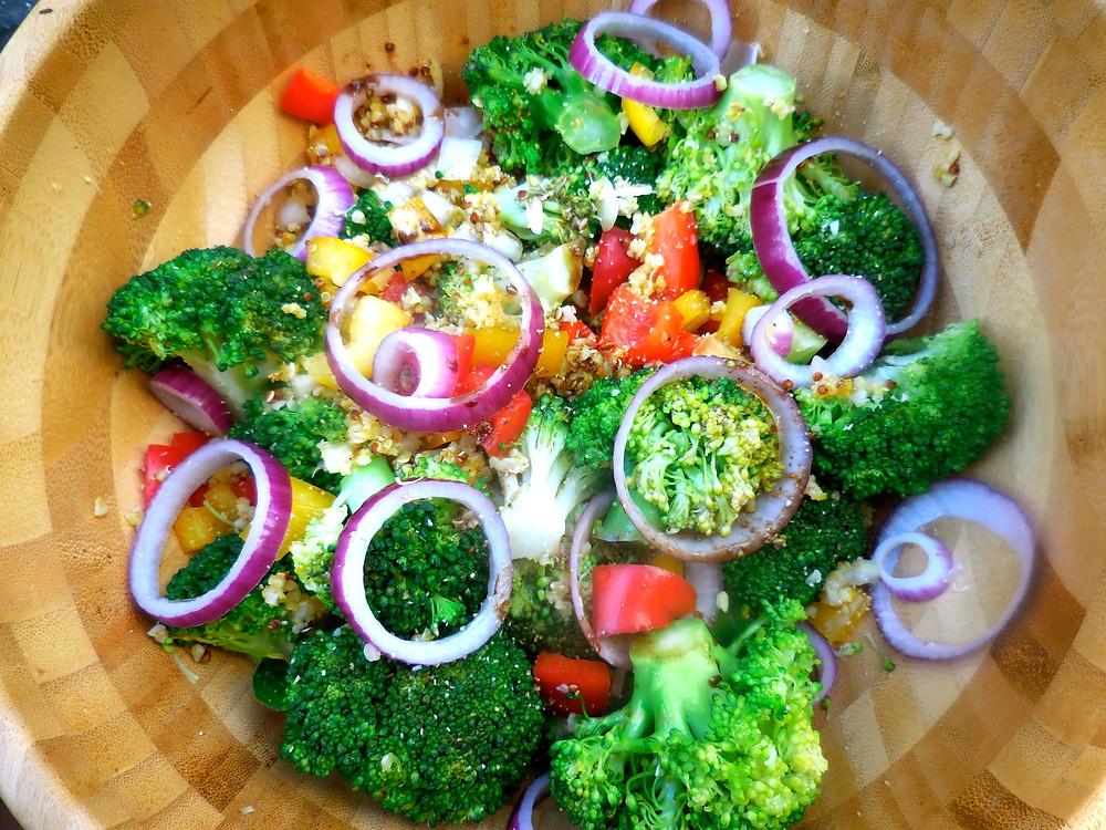 Salade brocoli
