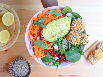 Buddha Bowl - Falafel à la tomate