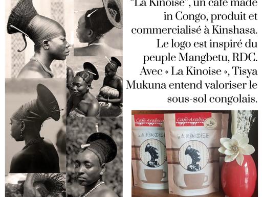 Terres du Congo, Terres fertiles, « La Kinoise » le café made in Congo Article sur SLK News