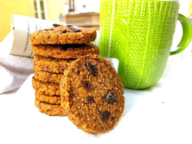 Cookie Léger au Cacao sans gluten