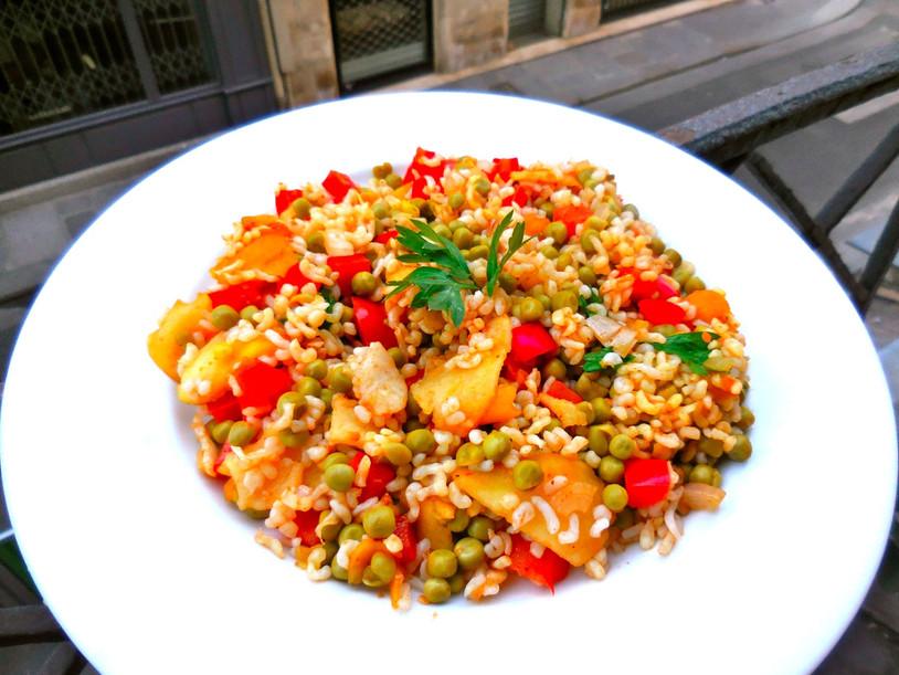 Riz Sauté 100% Végétal