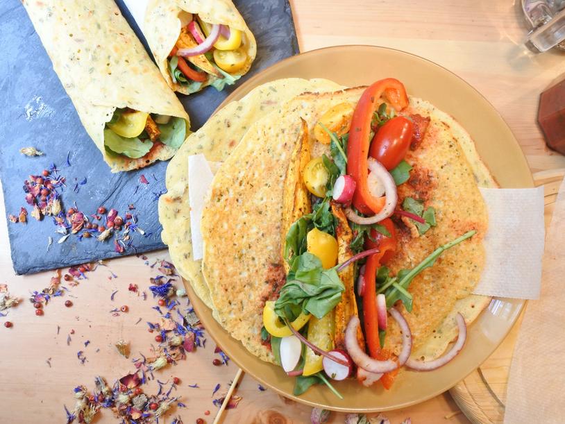 Tortilla Sans Gluten { Fait Maison } Vegan Fajitas