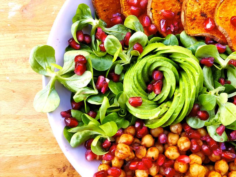 Buddha Bowl Rose d'Avocat [Salade Santé]