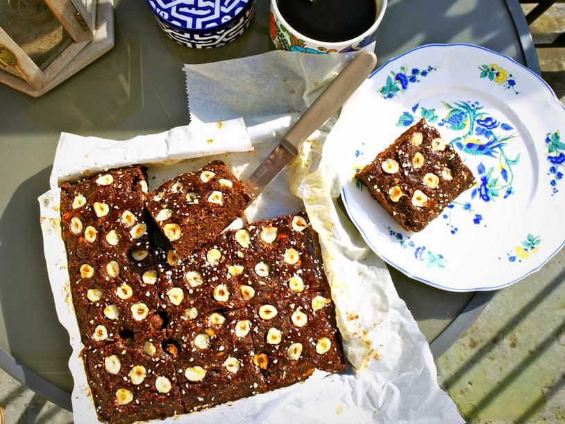 Brownie Vegan [sans sucre ajoutée, sans matière grasse]