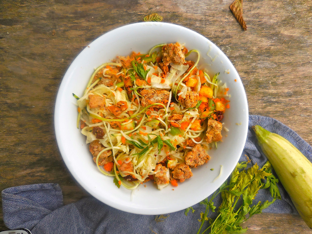 salade courgette patate douce