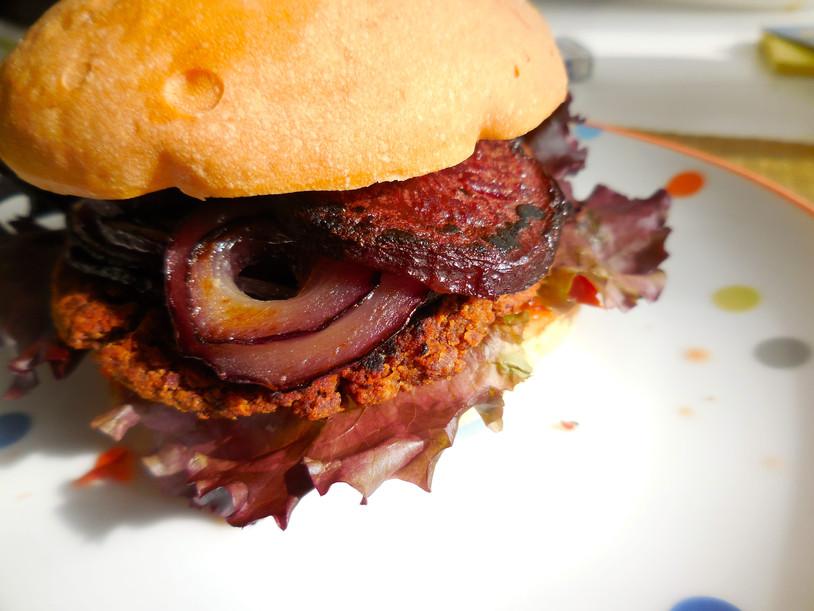Le Dragon Vegan Burger