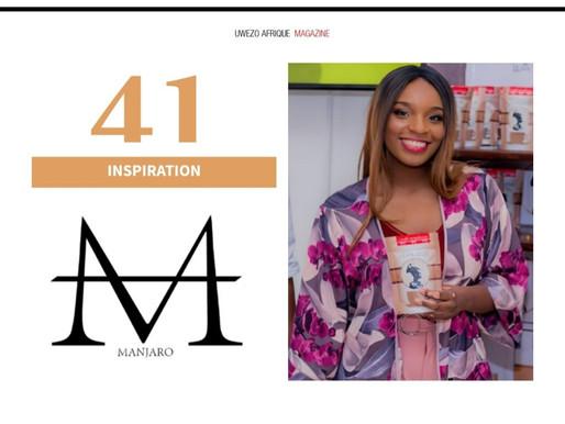 Tisya MUKUNA sur UWEZO AFRIQUE Magazine