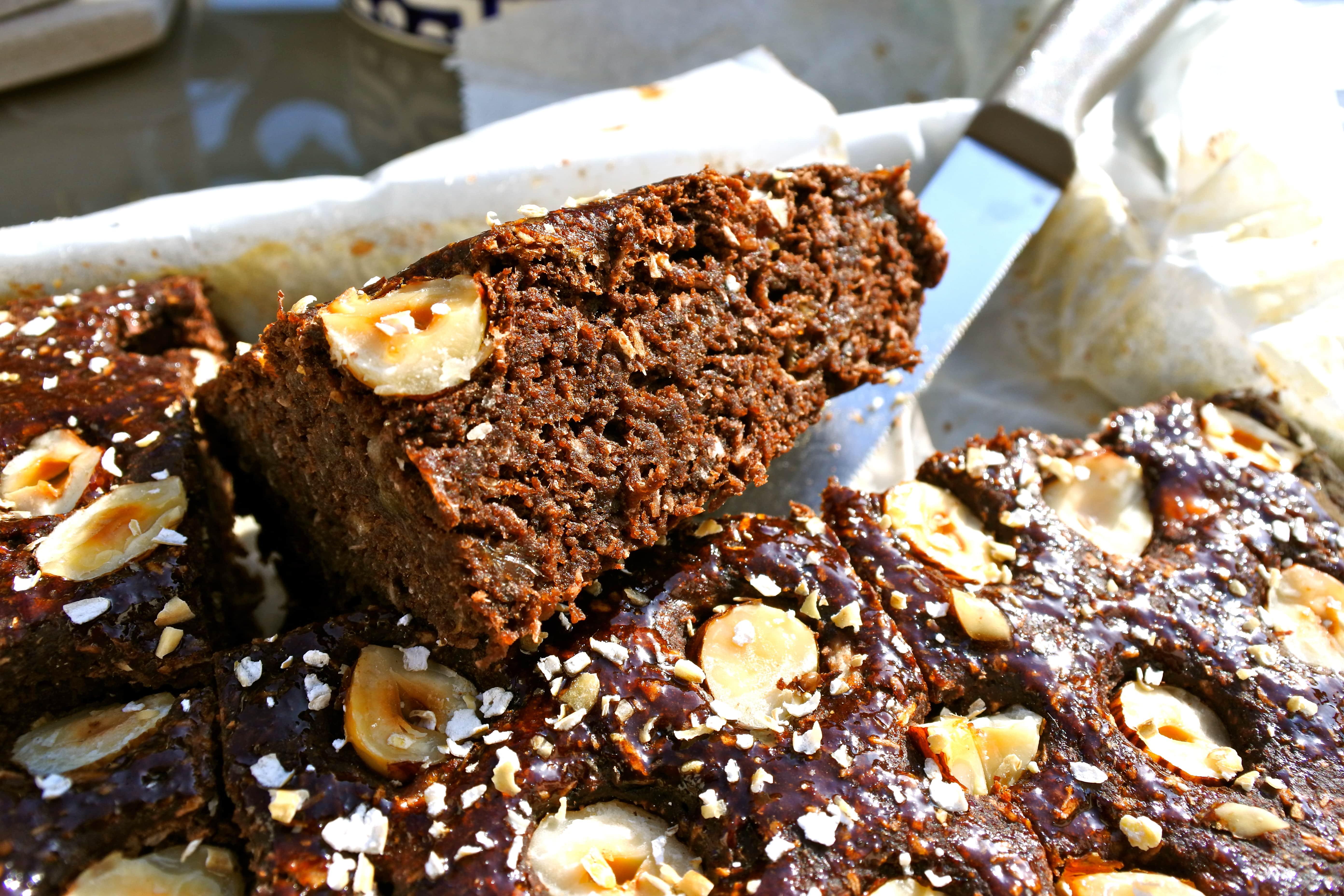 Brownie vegan sans sucre ajoutée cacao