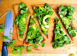 vegan healthy pizza