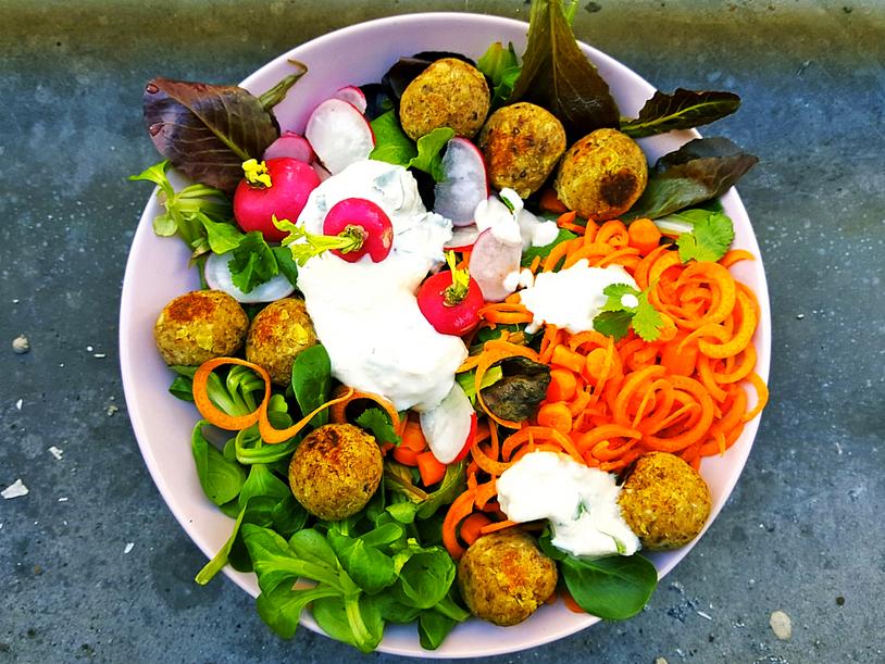 Ma Salade Colorée [Buddha Bowl]
