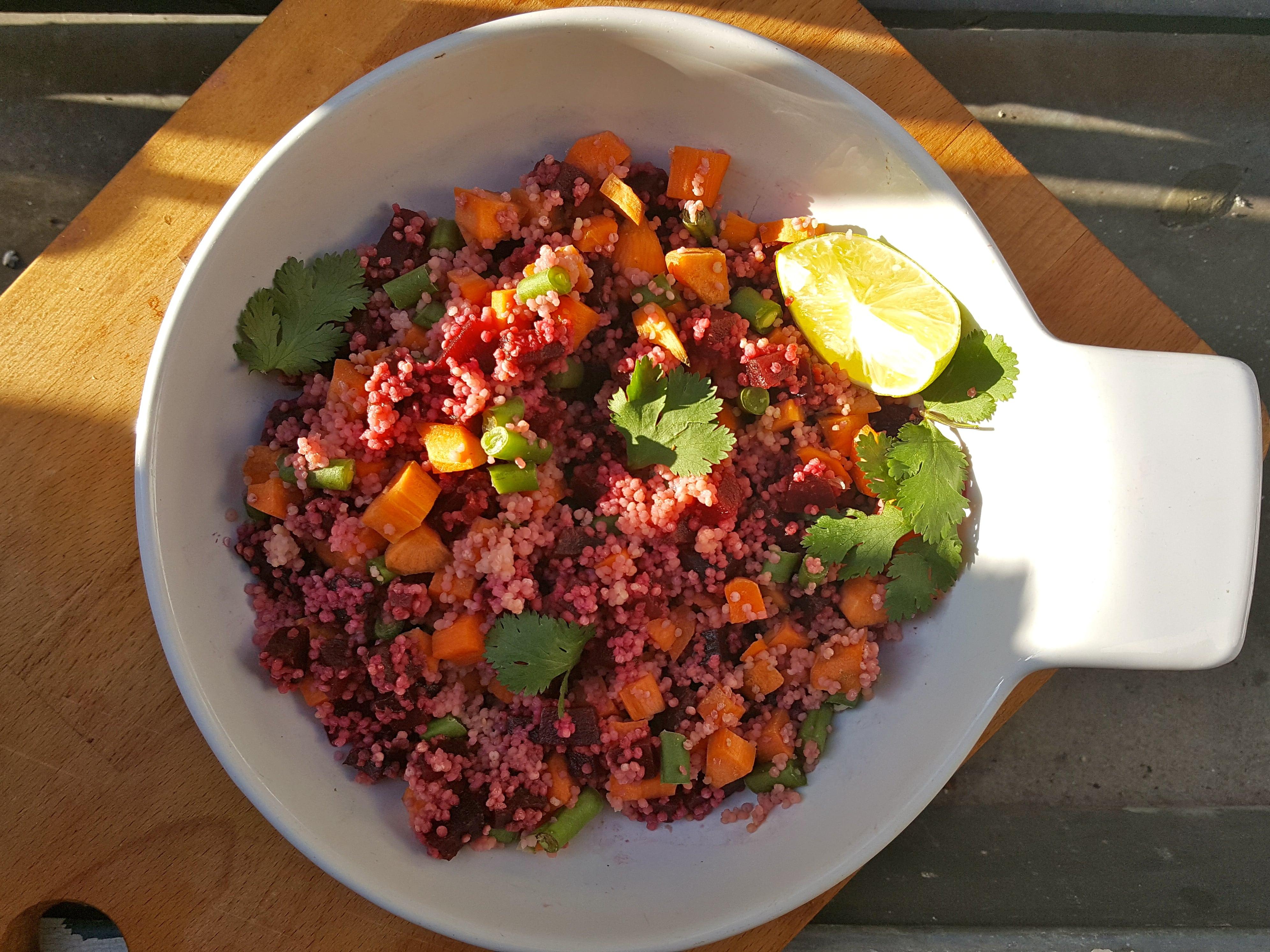 salade betterave millet