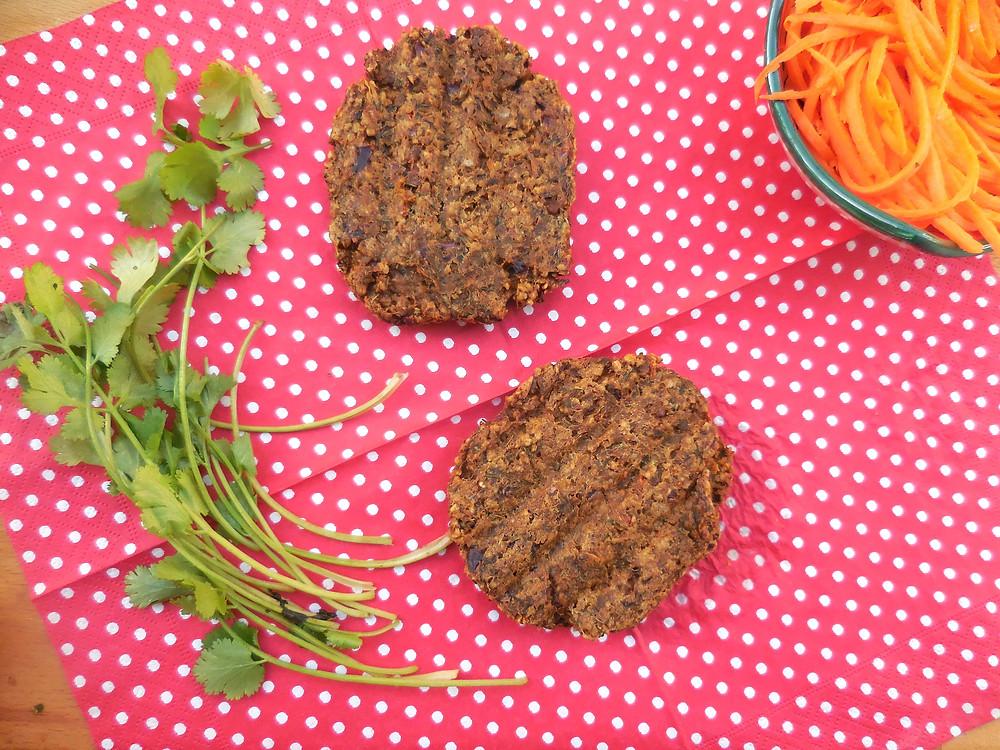 Steak d'aubergine vegan